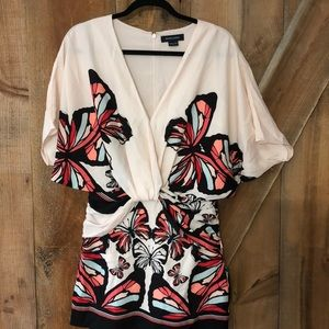 Marciano butterfly batwing dress size small
